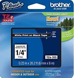 Etichete Brother TZE315