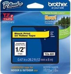 Etichete Brother TZE631
