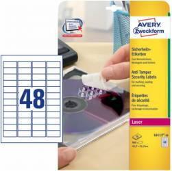 Etichete de sigiliu Avery Zweckform 45,7x21,2 mm Articole and accesorii birou
