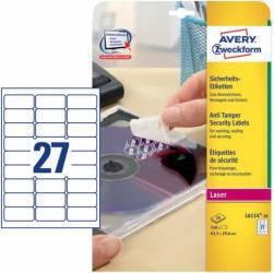Etichete de sigiliu Zweckform 63.5 x 29.6 mm Articole and accesorii birou