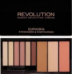 Paleta de culori Makeup Revolution London Euphoria - Bare Make-up ochi