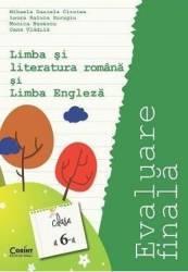 Evaluare Finala Cls 6 Romana Si Engleza - Mihaela Daniela Cirstea Carti