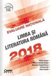 Evaluare nationala 2018 Limba si literatura romana - Viorica Avram Mihaela Daniela Cirstea Carti