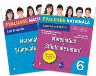 Evaluare nationala Matematica si Stiinte ale naturii cls 6 - Iunona Stas Gabriel Vrinceanu