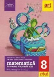 Evaluarea nationala 2018. Matematica - Clasa 8 - Marius Perianu