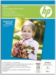 Everyday Semi-glossy Photo Paper HP 25 sheets Hartie