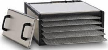 Excalibur Deshidrator 5 Tavi cu Timer Otel Inoxidabil
