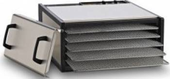 Excalibur Deshidrator 5 Tavi cu Timer Otel Inoxidabil Deshidratoare