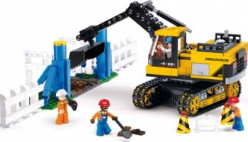 Excavator Sluban Town Construction M38-B0551 Lego