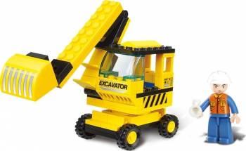 Excavator Sluban Town M38-B0176 Lego