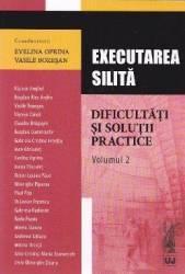 Executarea silita. Dificultati si solutii practice vol. 2 - Evelina Oprina Vasile Bozesan
