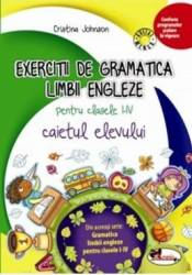 Exercitii de gramatica limbii engleze pentru clasele I-IV caiet - Cristina Johnson