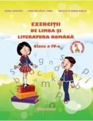 Exercitii de limba si literatura romana cls 4 - Adina Grigore