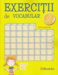 Exercitii de vocabular - Clasele 2 3 4 - Petcu Abdulea Carti