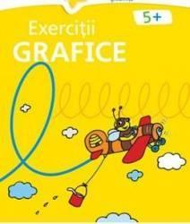Exercitii grafice 5 ani+ galbena