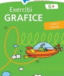 Exercitii grafice 6 ani+ verde
