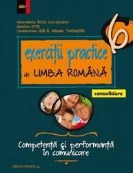 Exercitii practice de limba romana. Consolidare Ed. 2017 - Clasa 6 - Mina-Maria Rusu Geanina Cotoi