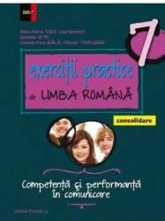 Exercitii practice de limba romana. Consolidare Ed. 2017 - Clasa 7 - Mina-Maria Rusu Geanina Cotoi