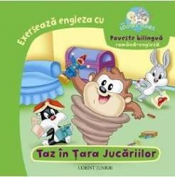 Exerseaza engleza cu Baby Looney Tunes - Taz in Tara Jucariilor