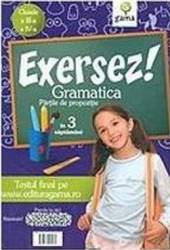 Exersez Gramatica. Partile de propozitie - Cls 3 Si 4