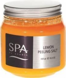 Exfoliant de corp Anubis Lemon Peeling Salt Gel de dus, sapun lichid