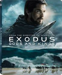 Exodus Gods and Kings BluRay 3D Steelbook 2014 Filme BluRay 3D