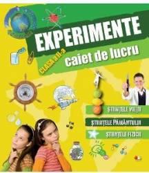 Experimente clasa 2 caiet de lucru
