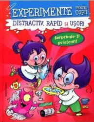 Experimente pentru copii rosu Distractiv Rapid si usor