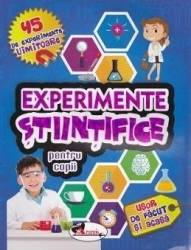 Experimente stiintifice pentru copii Carti