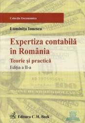 Expertiza contabila in Romania ed.2 - Luminita Ionescu Carti