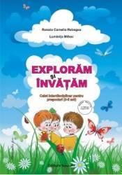 Exploram si invatam 3-5 ani - Renata Camelia Rebegea