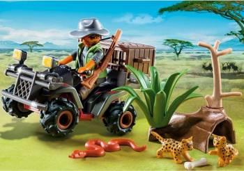 Explorator Bandit cu Vehicul PlayMobil Seturi de constructie