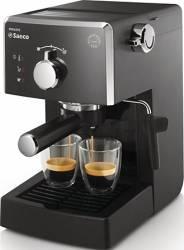 Espressor manual Saeco Poemia HD842319 Dispozitiv spumare 15 Bar 1.25 l Negru Espressoare