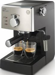 Espressor manual Saeco Poemia HD842519 950W 15 bar 1.25l NegruArgintiu Espressoare
