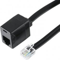 Extensie cablu Hama 6p6c Modular Plug - 6p6c Modular Socket 10 m Accesorii retea