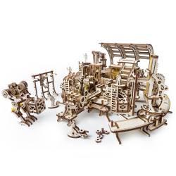 Fabrica de roboti Puzzle 3D UGEARS Puzzle adulti