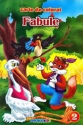 Fabule vol.2 B5 - Carte de colorat