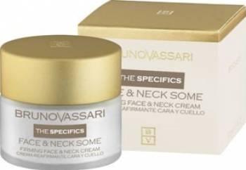 Crema pentru fermitatea gatului Bruno Vassari Face and Neck Creme pentru fermitate