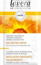 Masca de fata Lavera Face Mask with Ginger Marigold and Mango and Shea Butter