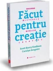 Facut pentru creatie - Scott Barry Kaufman Carolyn Gregoire