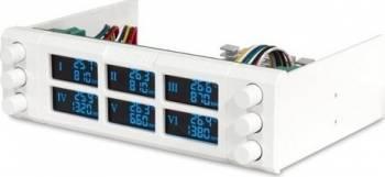Fan controller Reeven Six Eyes Alb Accesorii Ventilatoare