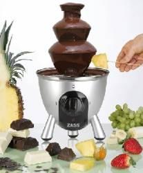 Fantana de ciocolata Zass ZCFF01 Aparate Preparat Desert