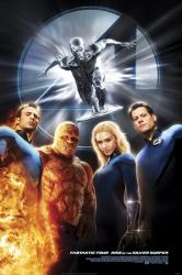 FANTASTIC FOUR RISE OF THE SILVER SURFER DVD 2007