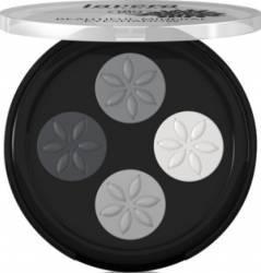 Fard de pleoape Lavera quattro Smokey Grey 01 Make-up ochi