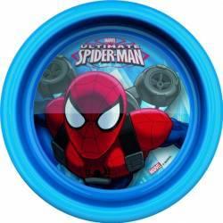 Farfurie adanca pentru copii BBS Spiderman 16cm Cani, pahare, accesorii masa