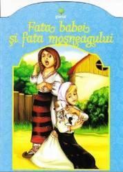 Fata babei si fata mosneagului - Colorez povesti alese
