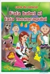 Fata Babei si fata Mosului - Carte de colorat ed. 2012 2.5