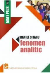 Fenomen analitic - Daniel Sitaru