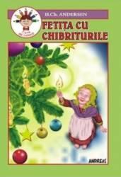Fetita cu chibrituri - H.Ch. Andersen - Carte de colorat
