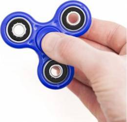 Fidget Spinner Satzuma FLIX Blue Jucarii antistres